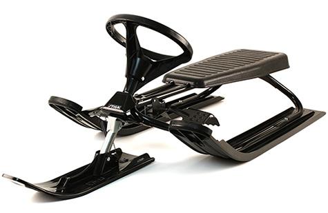класическа шейна с кормило Snowracer Classic Black