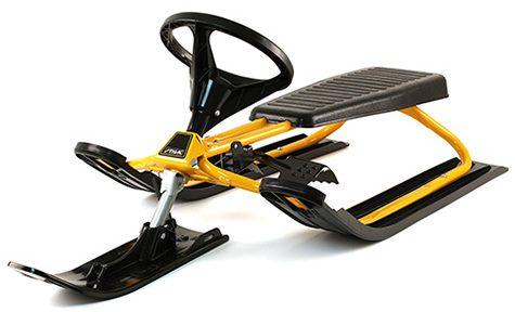 шейна snowracer classic pro yellow - STIGA Snowracer Classic PRO Yellow