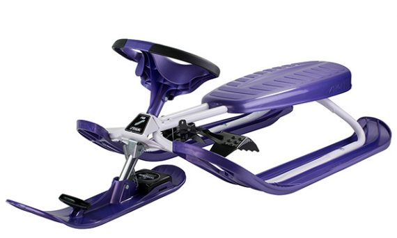 шейна с кормило STIGA Snowracer COLOR PRO PURPLE