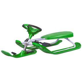 Snowracer Color PRO Green шейна с кормило